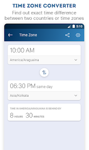 Units, Currency, Color, Age & Time Zone Converter - náhled