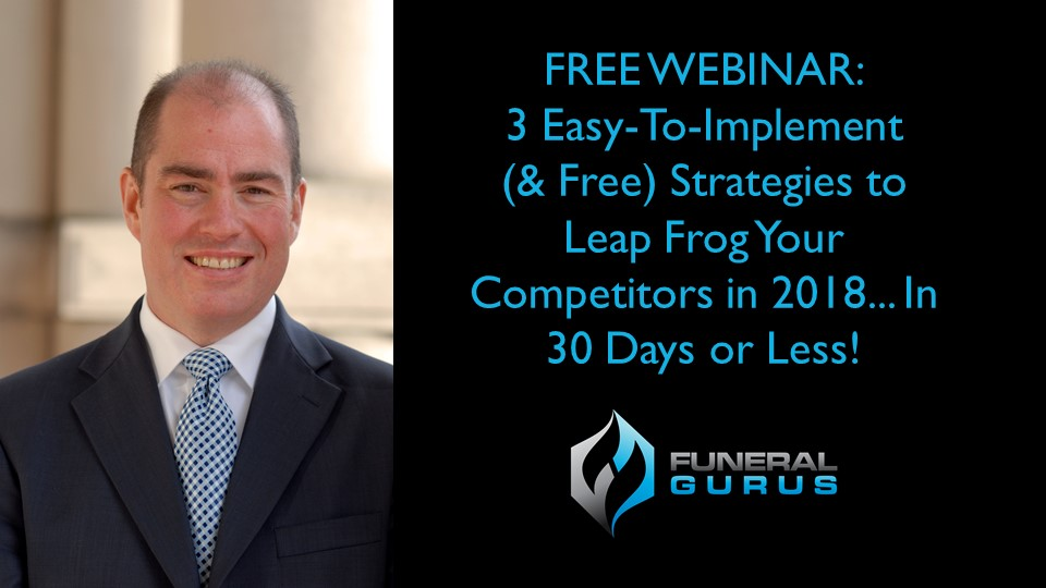 Free Webinar: 3 Easy To Implement Strategies for 2018