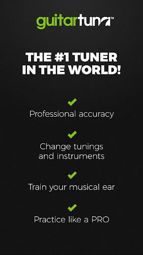 Guitar Tuner Free - GuitarTuna Android App Screenshot