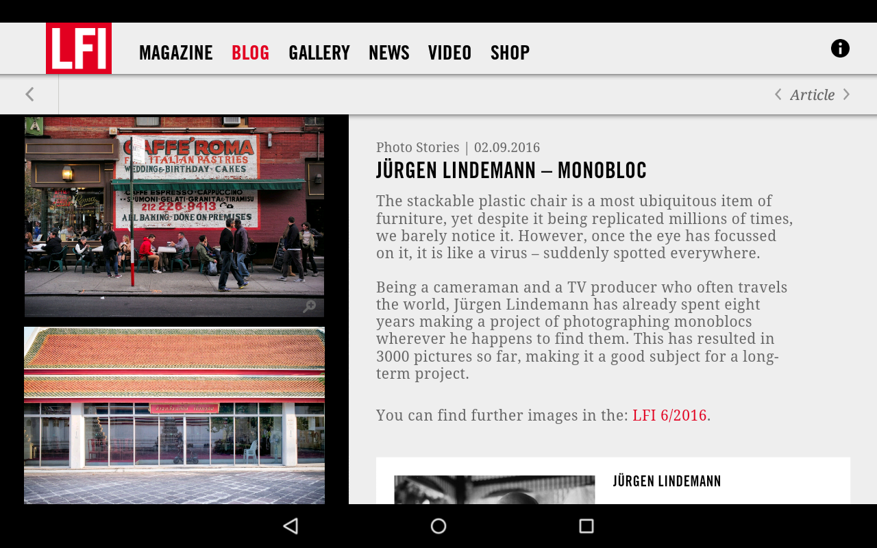LFI - Leica Fotografie Int.- screenshot