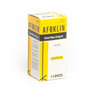 Ácido Fólico Afoklin Gotas 10mg/mL x 15 mL