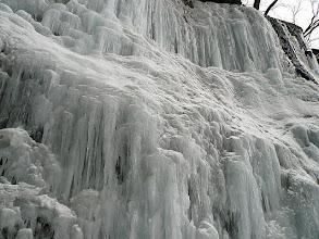 Photo: 岩盤全てが氷結