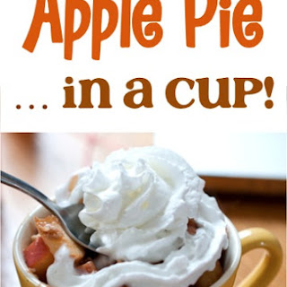 Healthy Apple Pie In A Cup.