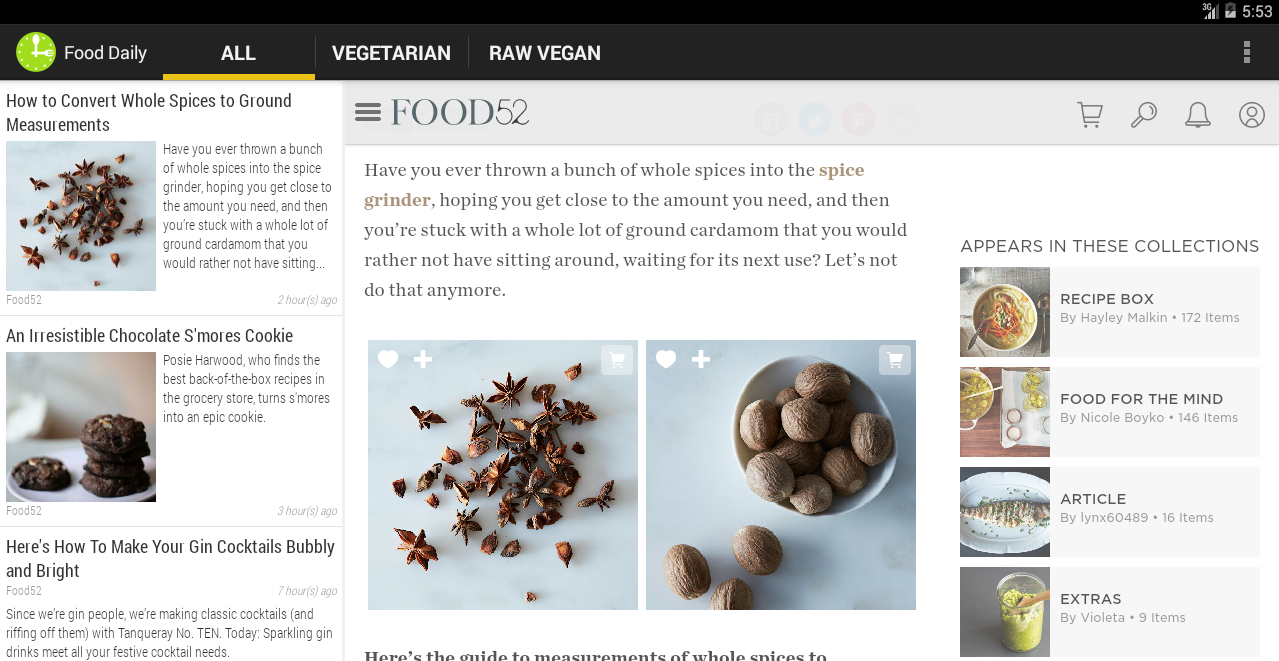 Food Daily- screenshot