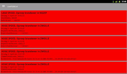 LiveP2000.nl - Free Meldingen v1.3.1c Screenshots 13