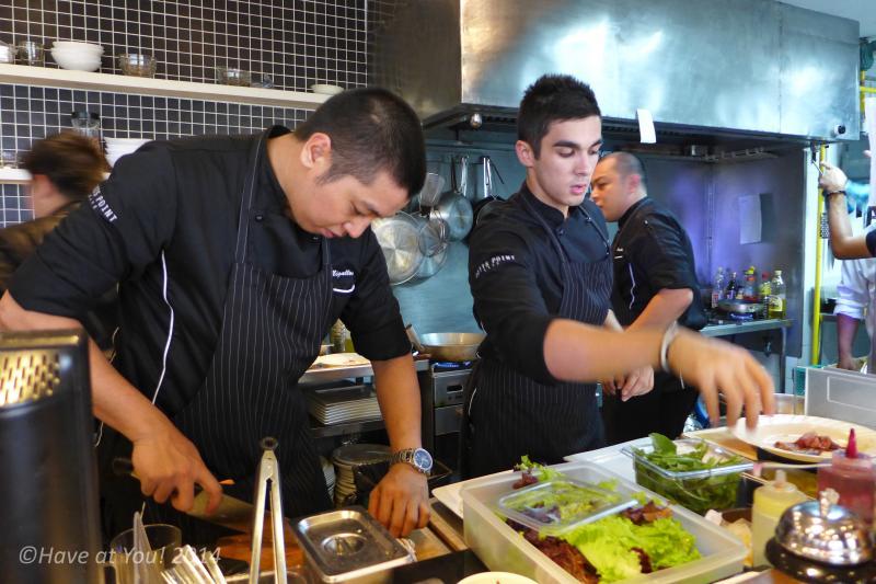Potts Point chefs