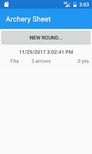 Archery Sheet - náhled