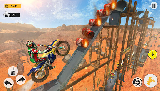 Télécharger Moto Bike Racing Stunt Master- New Bike Games 2020 apk mod screenshots 2
