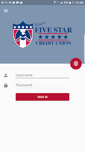 Five Star Credit Union- screenshot thumbnail