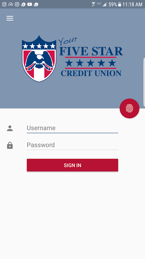 Five Star Credit Union- screenshot