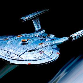 Starship Enterprise  by Richard Lawes - Novices Only Macro