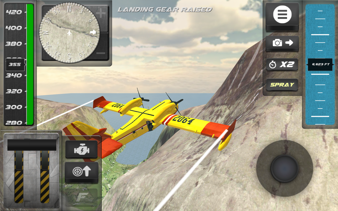 Airplane Firefighter Sim- screenshot