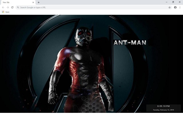 Ant-Man New Tab & Wallpapers Collection