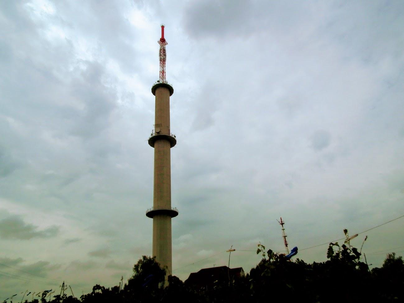 Csengőd/Kiskőrös - TV-URH gerincadó állomás