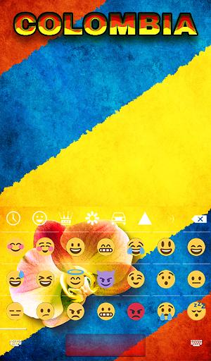 Kolumbien Animierte Tastatur Screenshots 4