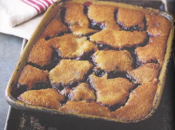 Blueberry Lemon Cobbler Recipe