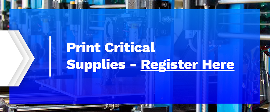 Print Critical Supplies