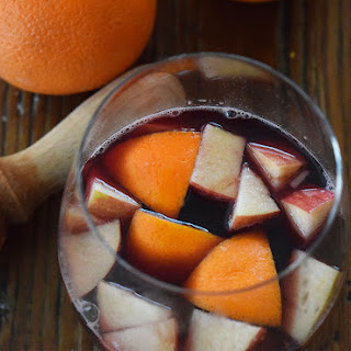 Blood Orange Sangria.