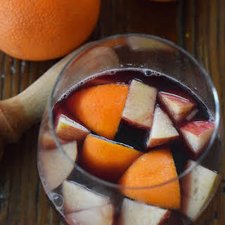 Blood Orange Sangria.