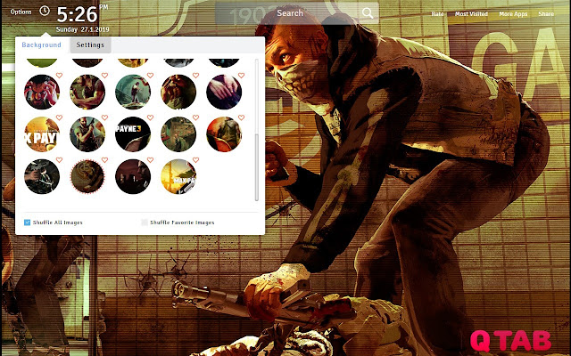 Max Payne 3 Wallpapers New Tab