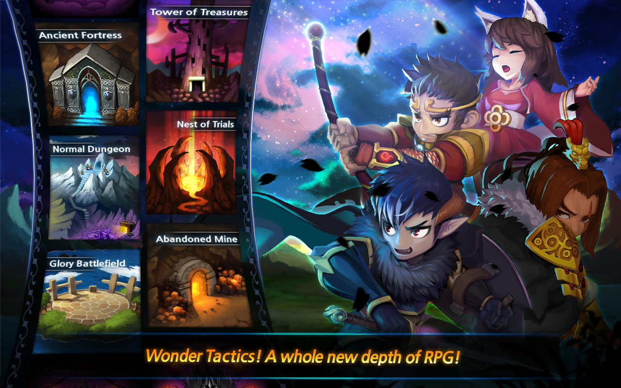Wonder Tactics- screenshot