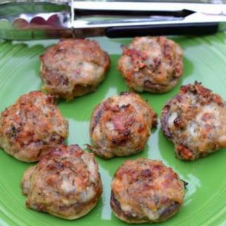 Bacon Cheddar Stuffed Mushroom