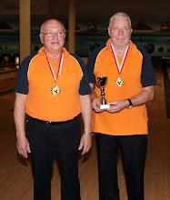 Photo: Senioren-Doppel 1. Platz – BC Traun