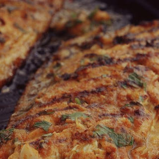 Grilled Mackerel Fillets with Chermoula