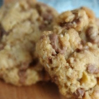Brown Butter Toasted Coconut & Toffee Cookies