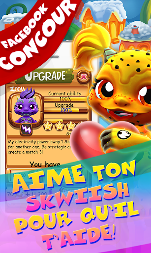 Save Our Skwiish: Charm Heroes A Fun Match 3 Quest  captures d'u00e9cran 8