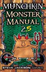 MUNCHKIN MONSTER MANUAL 2.5 (Hardback)