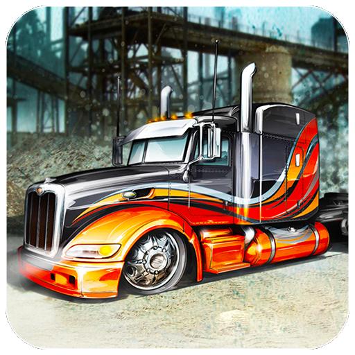 真正的卡车停车场模拟器 模擬 App LOGO-APP試玩