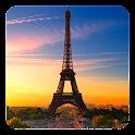 Paris Night Live Wallpaper icon
