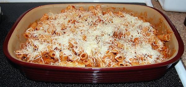 Easy Cheesey Pasta Bake Recipe