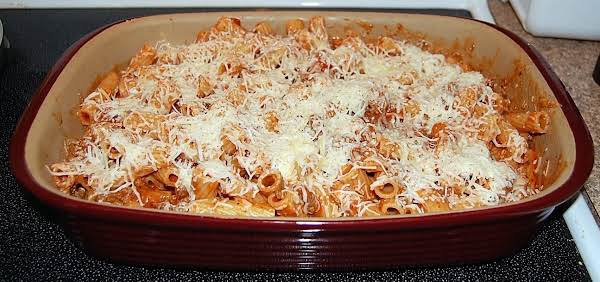 Easy Cheesey Pasta Bake Recipe