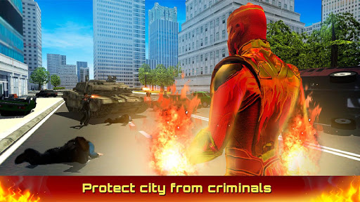 Fire Blaze Vice Town Superhero Simulator 1.0.0 screenshots 2