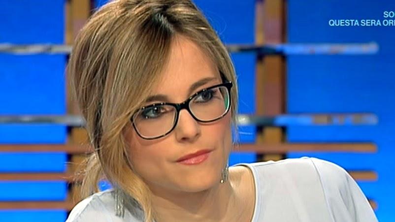 Francesca Fialdini, o frumosa prezentatoare RaiUno