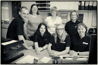 Photo: The Sales office team
