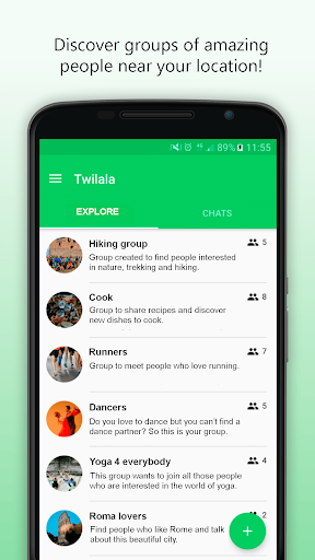 Twilala - Chat to meet people and make new friends 1.0.25 screenshots 1