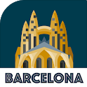 BARCELONA City Guide,  Offline Maps and Tours icon