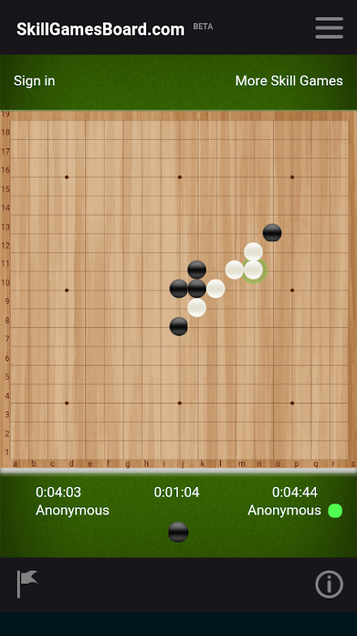 Gomoku by SkillGamesBoard- screenshot