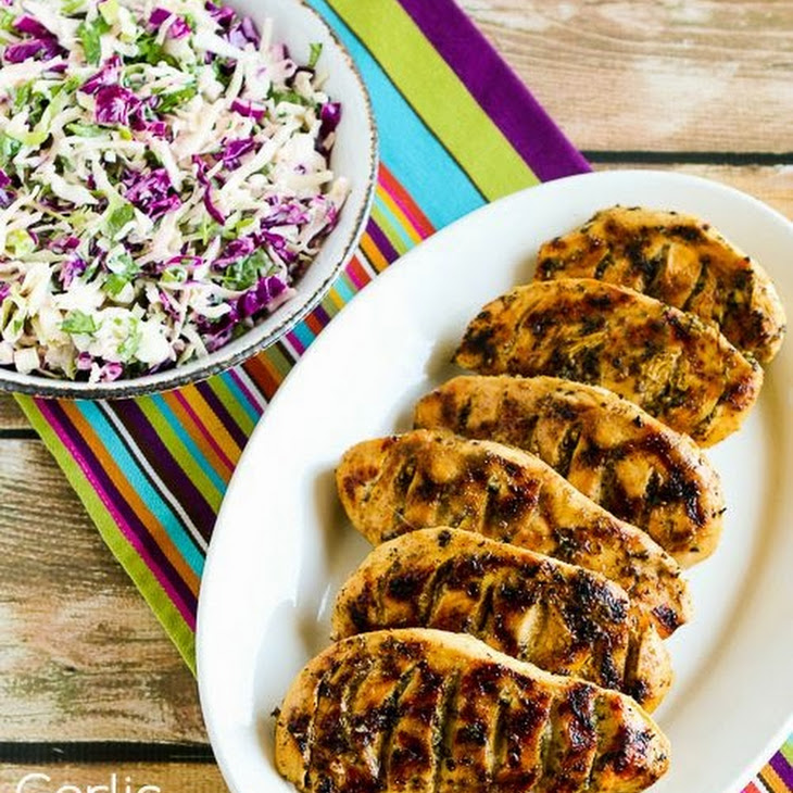 Garlic, Lemon, and Herb Grilled Chicken Breasts Recipe