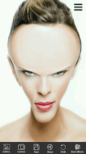 Funny photo-Face Warp,Face funny Photo - náhled