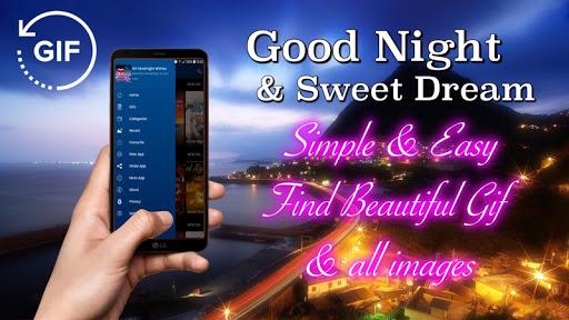 Gif Good Night & Sweet Dream Wishes Love 2.6.1 screenshots 2
