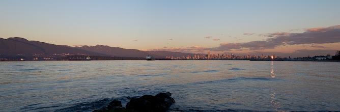 Photo: Locarno Beach VcV Sunday Oct2713 Sunset
