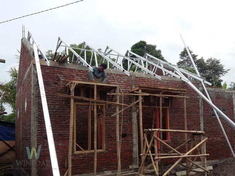 Proses Pembangunan Rumah 1 Lantai