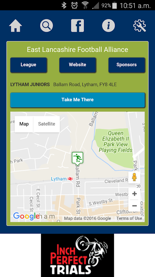 CSP UK Pitch Finder- screenshot
