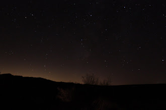 Photo: We finally reach Afton Canyon many hours later. Time for a quick night sky picture and hit the bed... Total of 9 hours driving today.