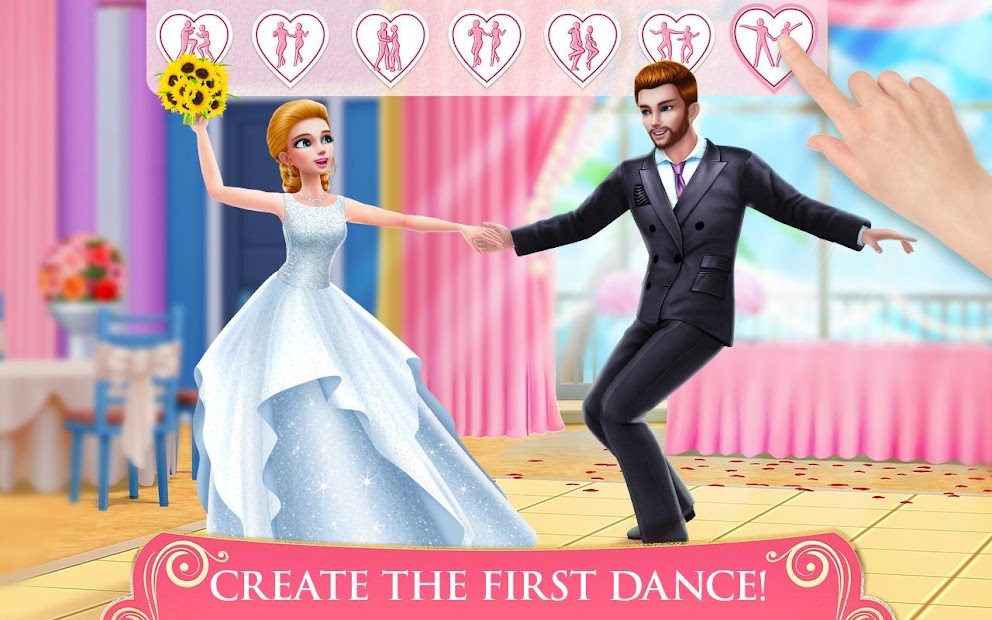 Dream Wedding Planner - Dress & Dance Like a Bride Android App Screenshot
