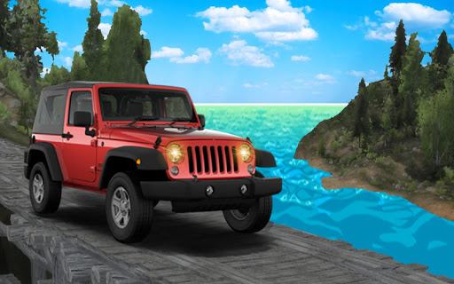 Jeep Driving Games 2018: Off Road Jeep Parking 4×4 1.0 screenshots 2